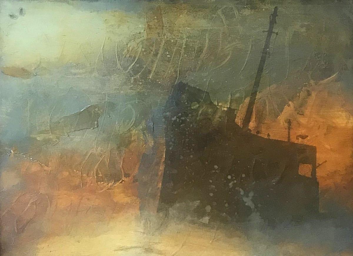 Hughie O'Donoghue, Medusa (study no.1), 2005