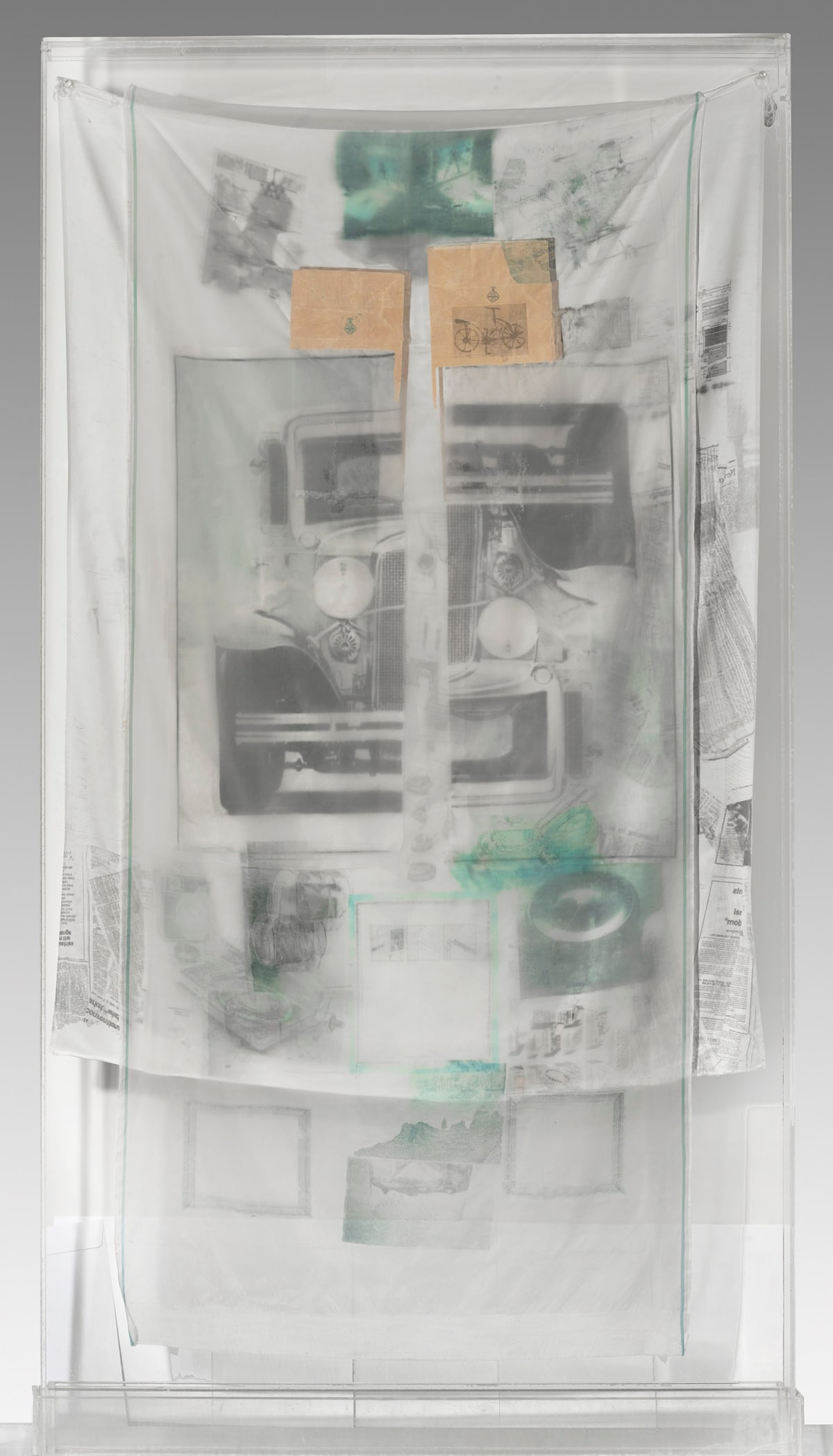 Robert Rauschenberg, Untitled 75.090 (from the Hoarfrost Series), 1975
