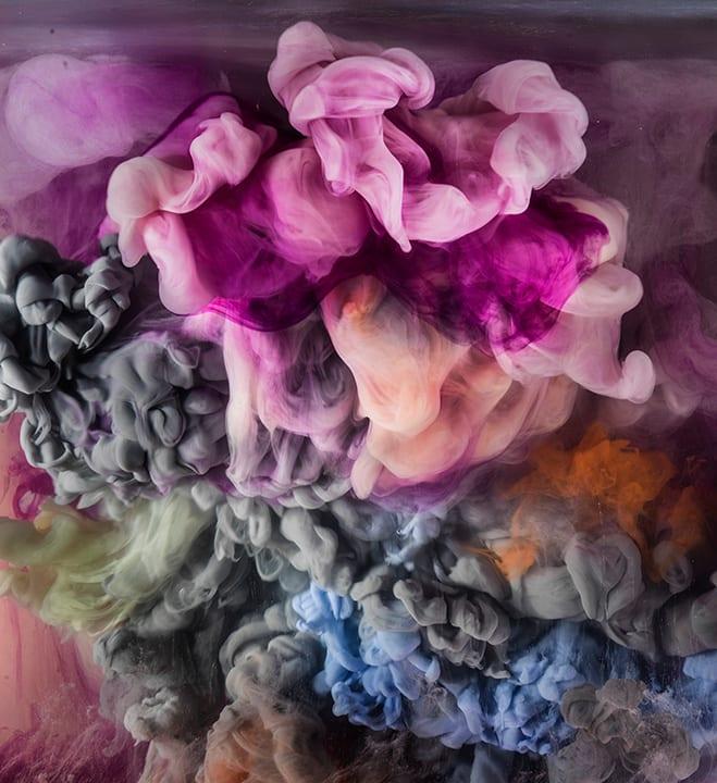 Kim Keever, Abstract 37361b, 2018