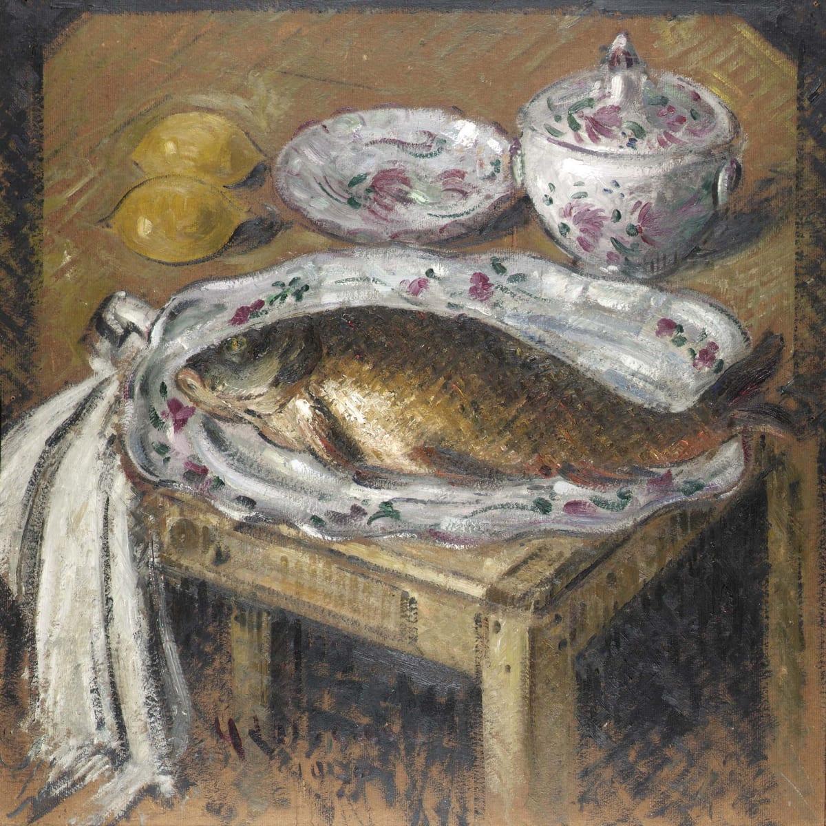 Gustave Loiseau, La carpe, 1930