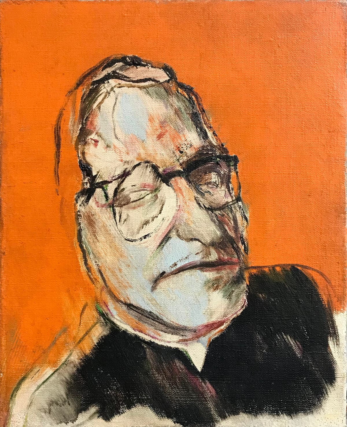 Ronald Brooks Kitaj, Monseigneur Ungar, 1958