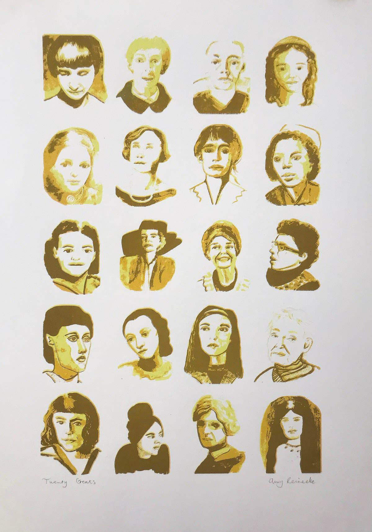 Putney School of Art and Design, Amy Reinecke, 20 Greats