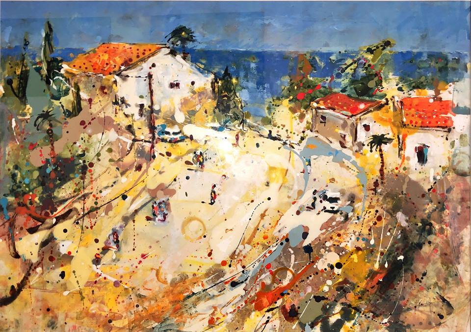 Andrew Hood, Road to Collioure , 2018