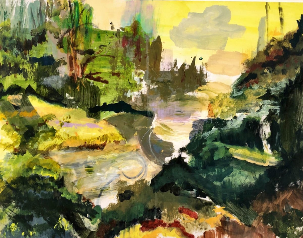 Putney School of Art and Design, Ghislaine de Give, River Afternoon