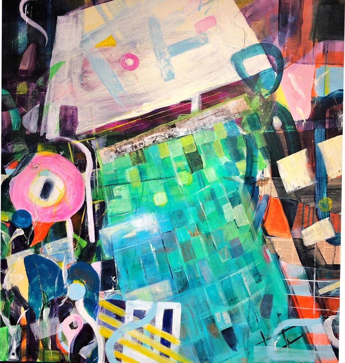 Putney School of Art and Design, Cityscape 'Pool', Kira Behnert