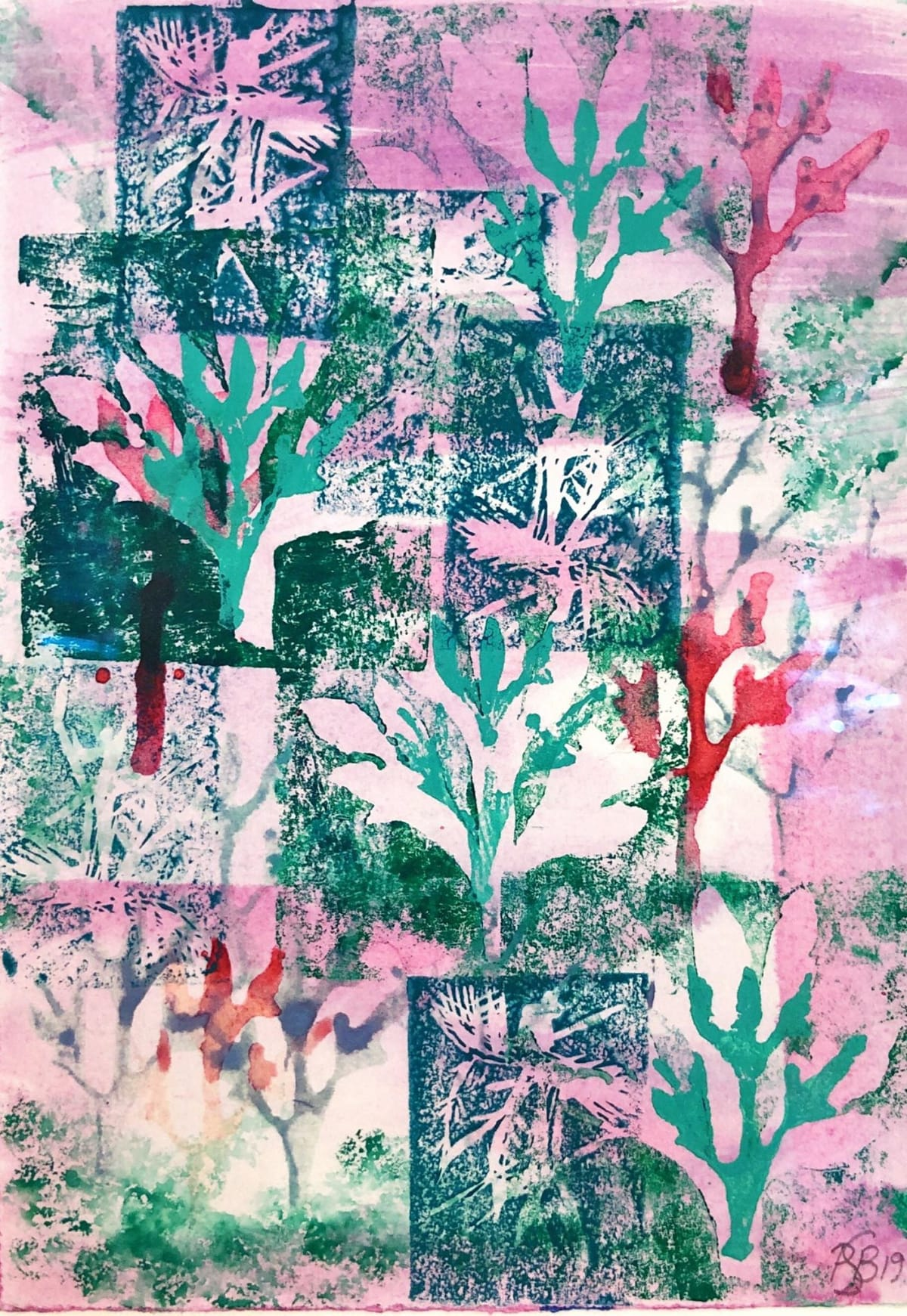 Putney School of Art and Design, Penny Bousfield, Artemisia and Anopheles (Pink)