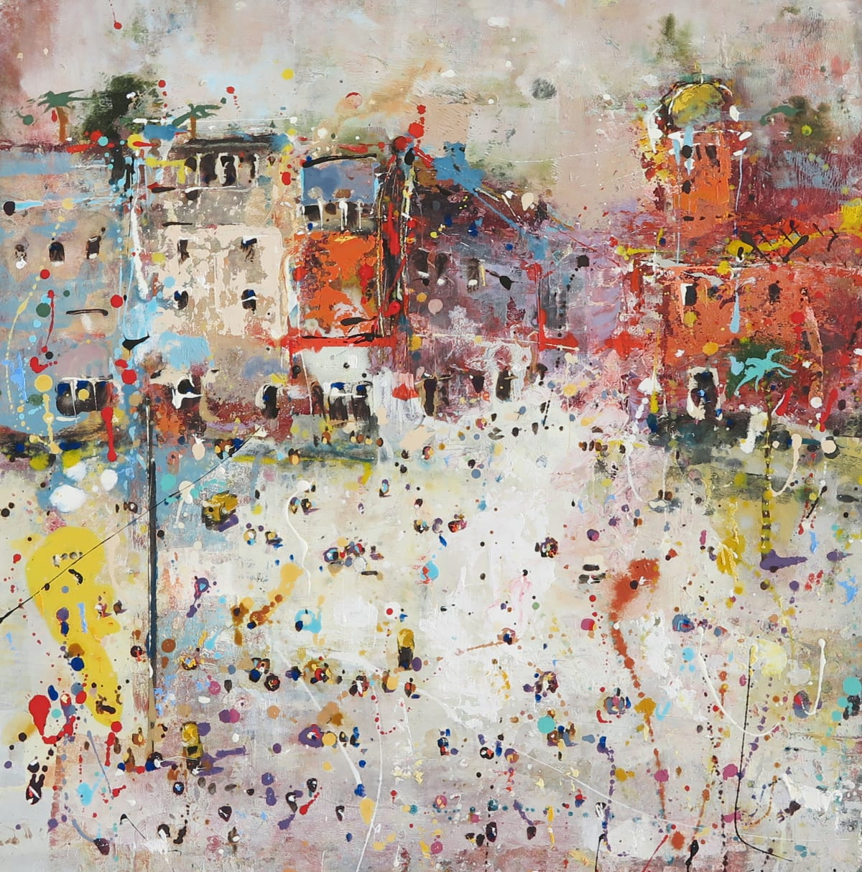 Andrew Hood, Market Place, Delhi