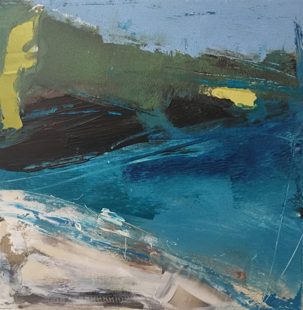 Catherine Warren, St. Ives, Blue, 2020