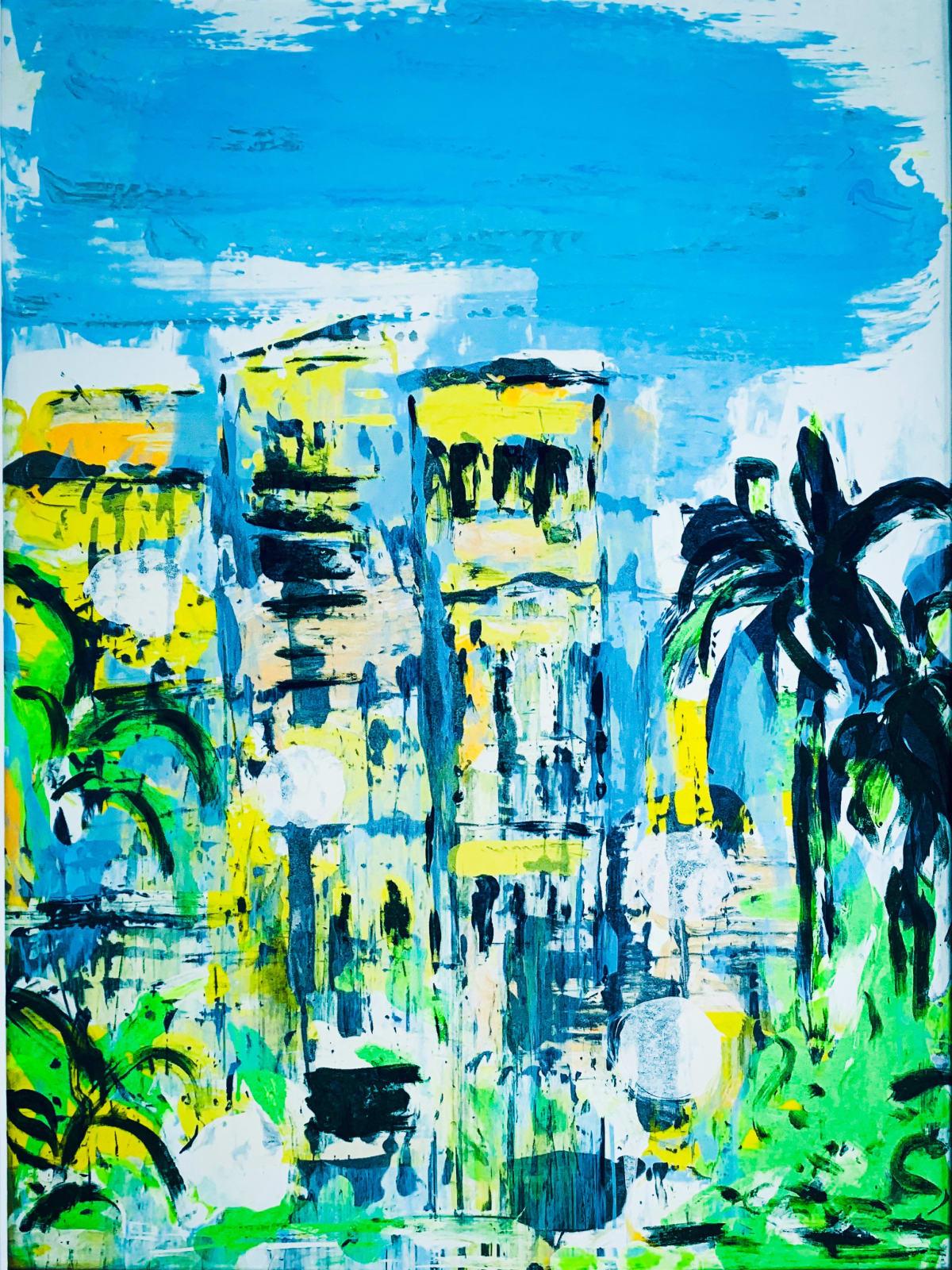 Putney School of Art and Design, Kira Behnert, Summer in the City