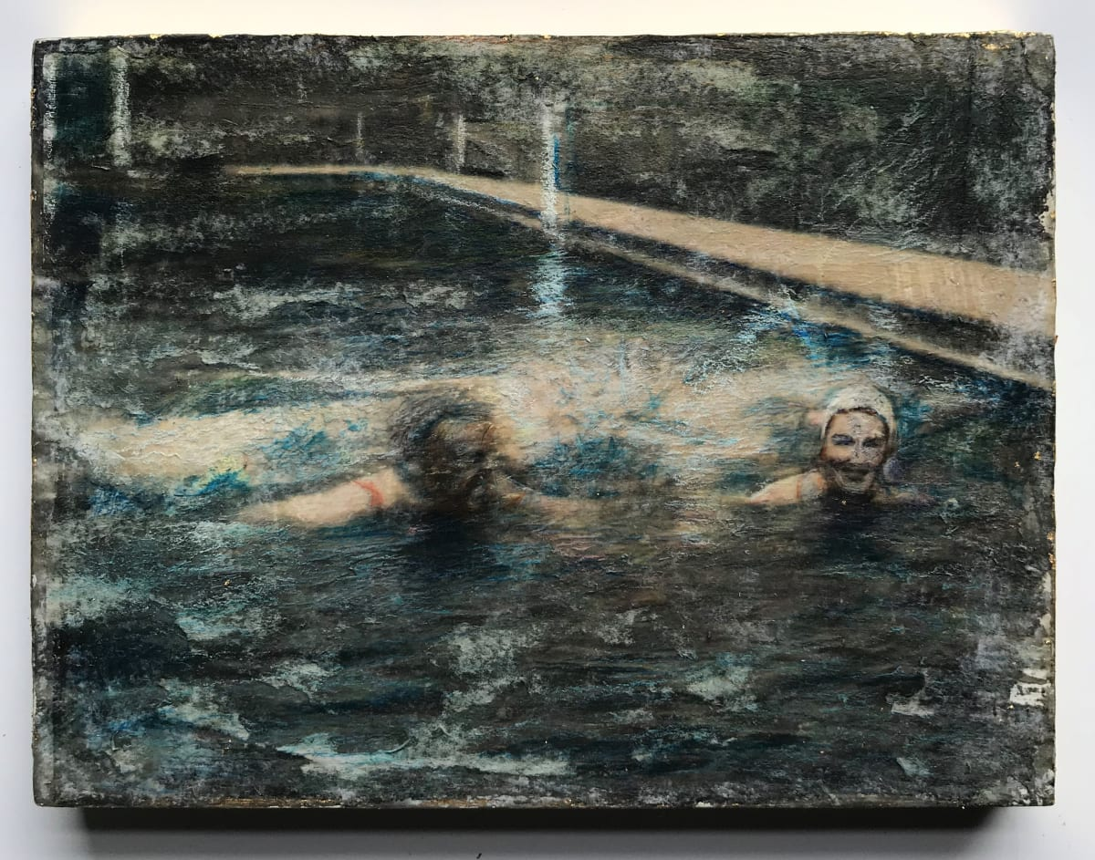 Putney School of Art and Design, Katie Preston, Ann and Jocelyn Swimming