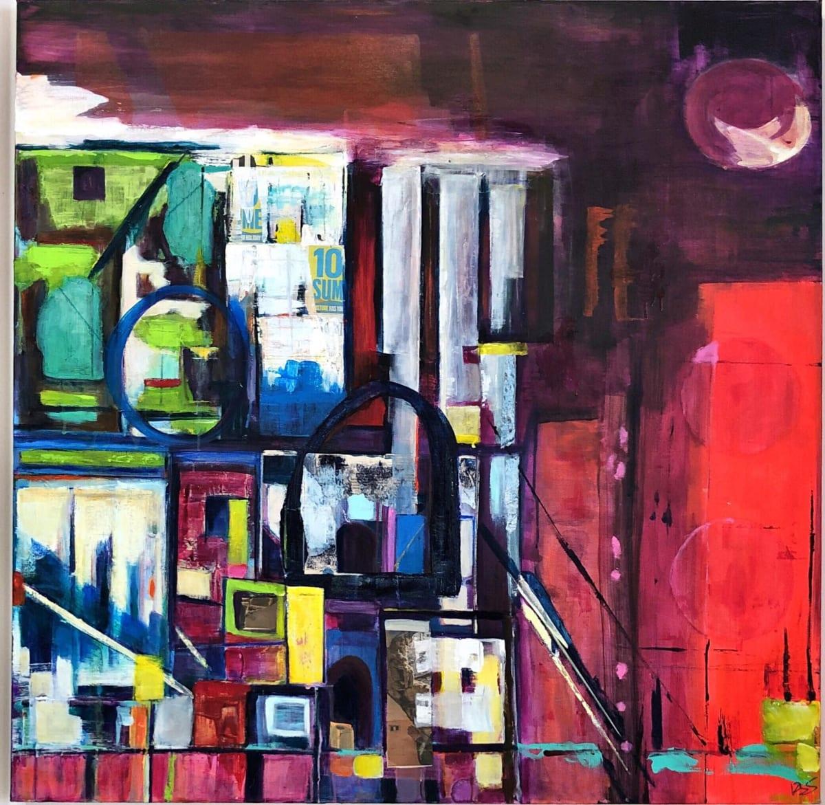 Putney School of Art and Design, Kira Behnert, London at Night