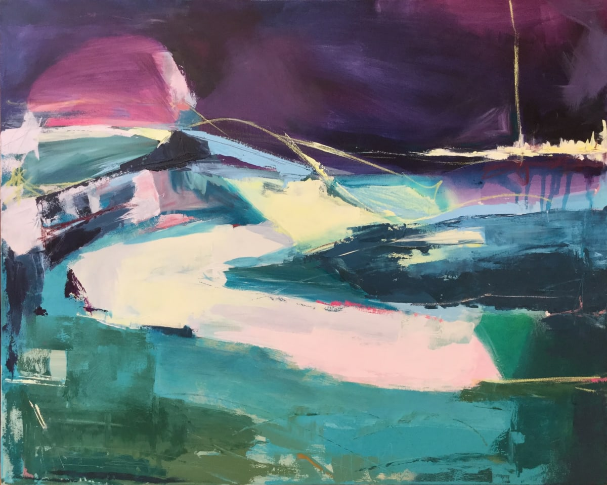 Catherine Warren, Purple Sky, 2020