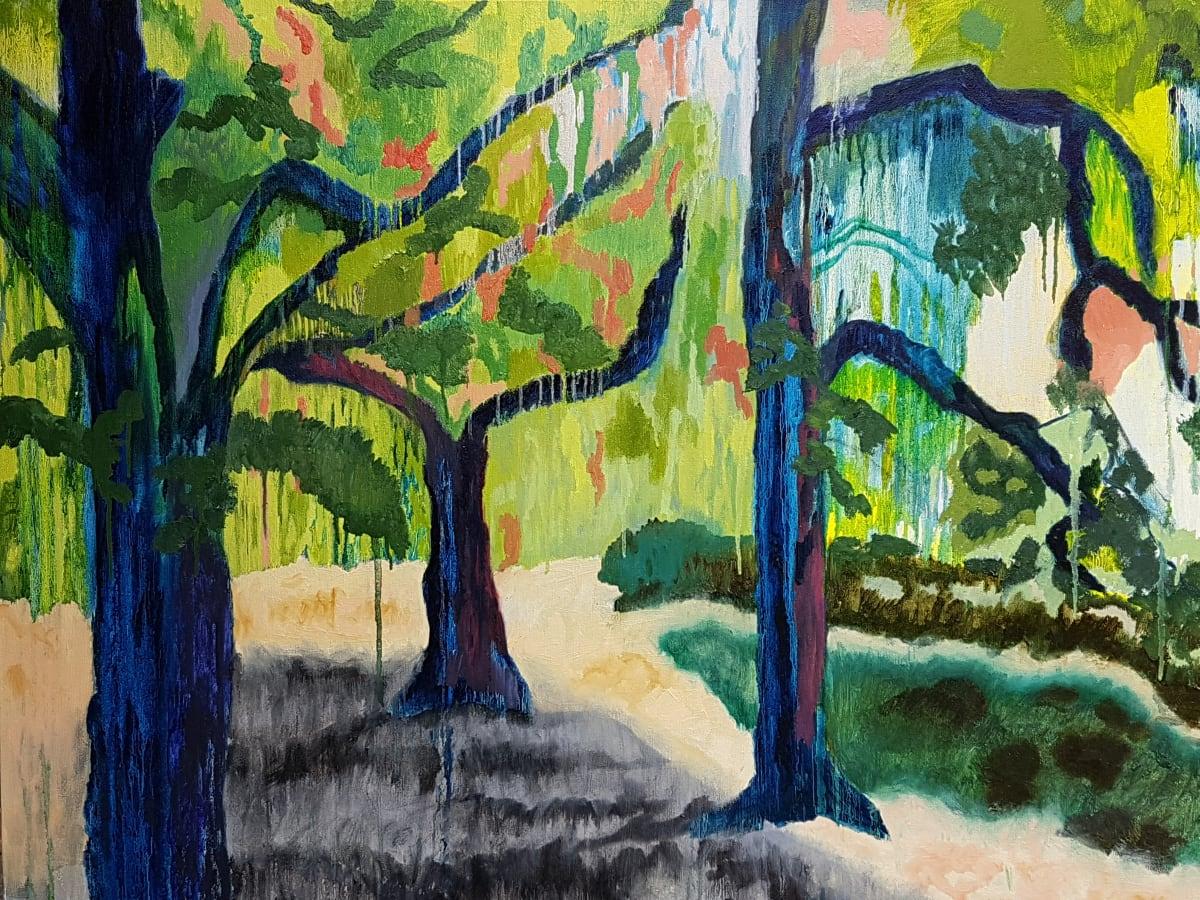 Putney School of Art and Design, Marian Aragón, Three Trees