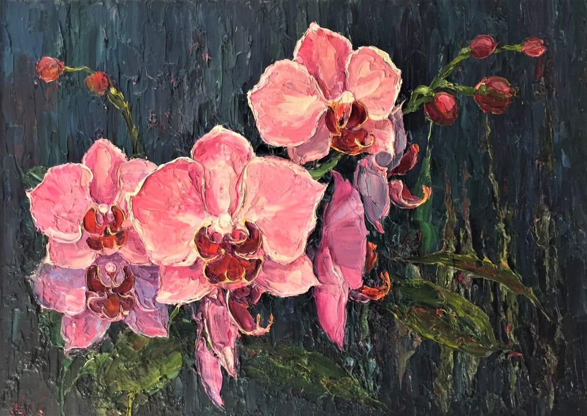 Lana Okiro, Pink Orchids