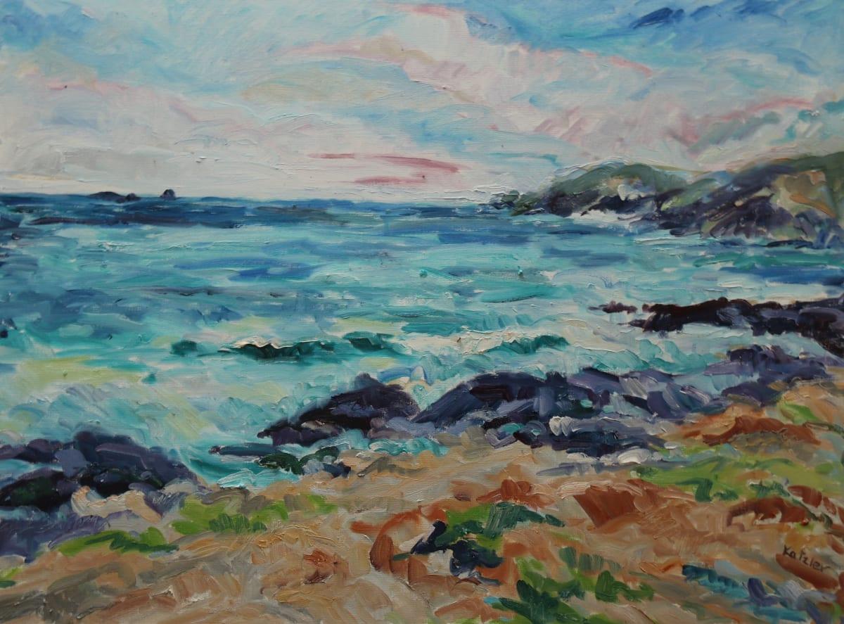 Fi Katzler BOOBY'S BAY Oil on canvas 24 x 32 in. 60.96 x 81.28 cm