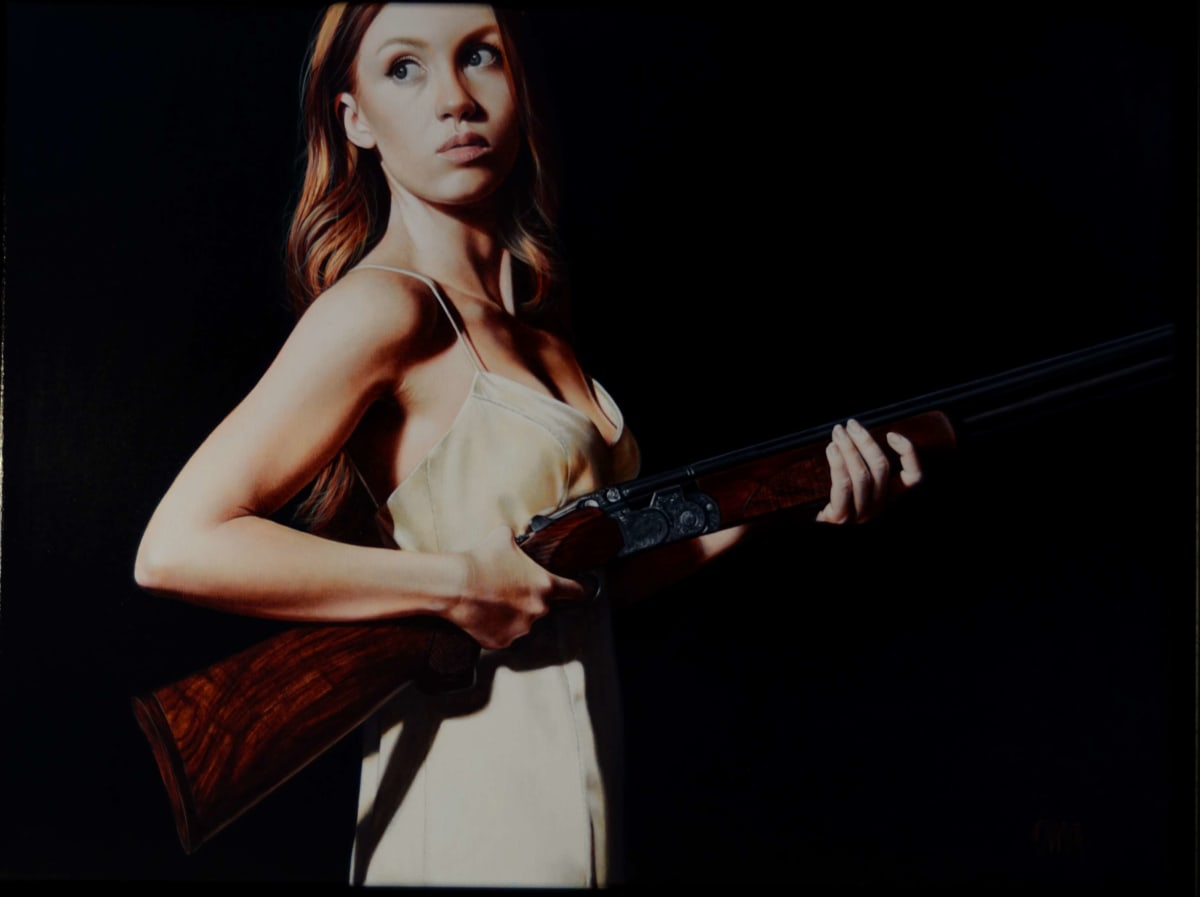 Trudy Good HELL HATH NO FURY 3 Oil on canvas 24 x 32 in. 60.96 x 81.28 cm