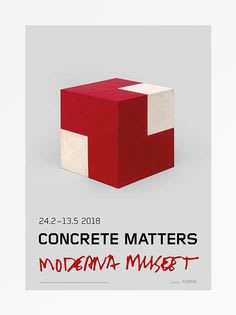 Willys De Castro Objeto Ativo (Concrete Matters), 2018 Poster 27 1/2 x 39 3/8 in 70 x 100 cm