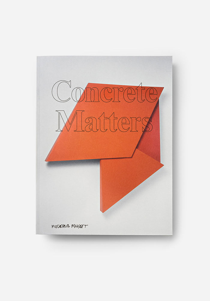 Various Artists Concrete Matters Book 8 1/2 x 11 1/8 in 21.7 x 28 cm