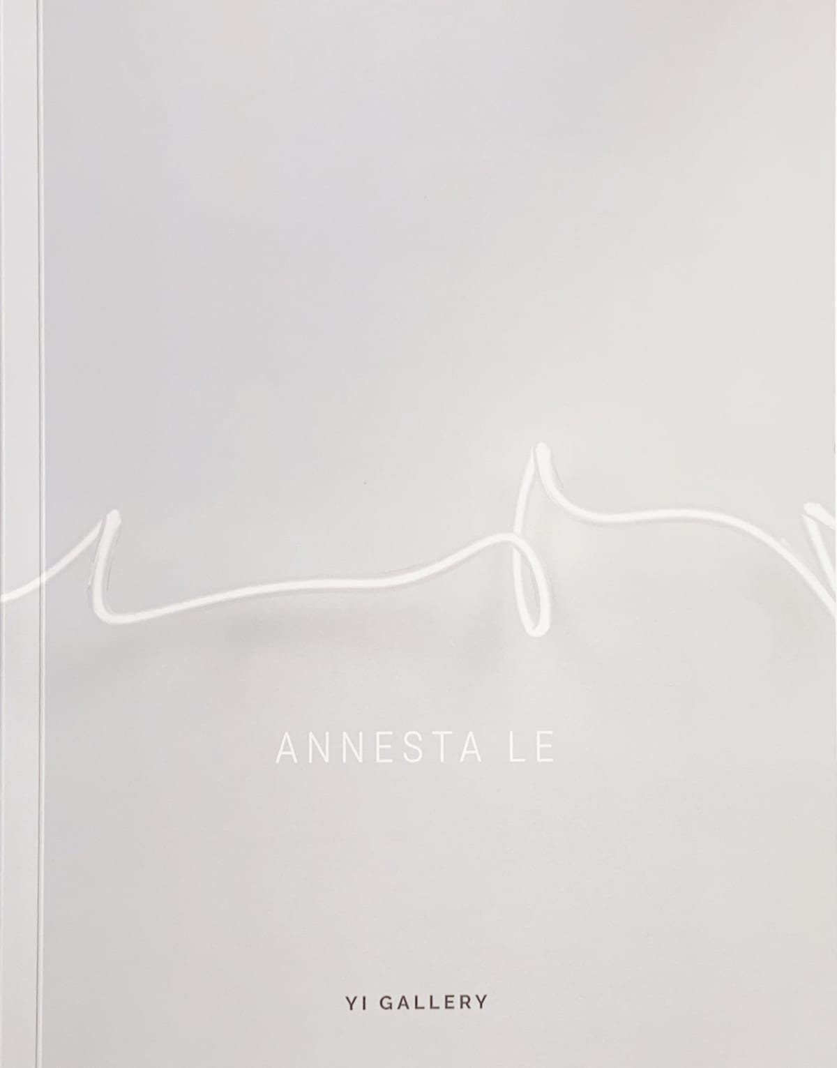Annesta Le Inner Space, 2020 Exhibition Catalog 11 x 8 1/2 in 27.9 x 21.6 cm