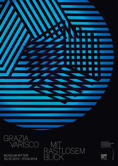 Grazia Varisco Poster 32.87 x 23.23 in 83.5 x 59 cm