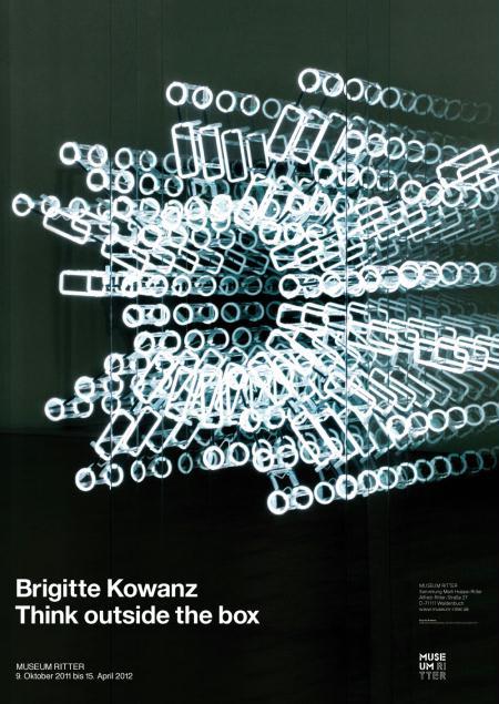 Brigitte Kowanz Poster 32.87 x 23.23 in 83.5 x 59 cm