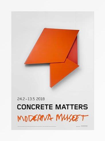 Helio Oiticica Utan Titel (Concrete Matters), 2018 Poster 27.56 x 39.37 in 70 x 100 cm