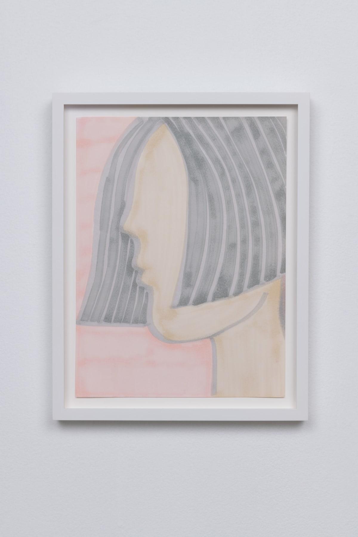 Annesta Le Body I, 2019 Marker on paper 12 x 9 in 30.5 x 22.9 cm