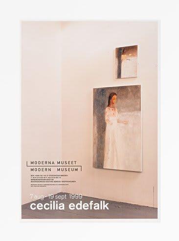 Cecilia Edefalk Elevator, 1999 Poster 27.56 x 39.37 in 70 x 100 cm