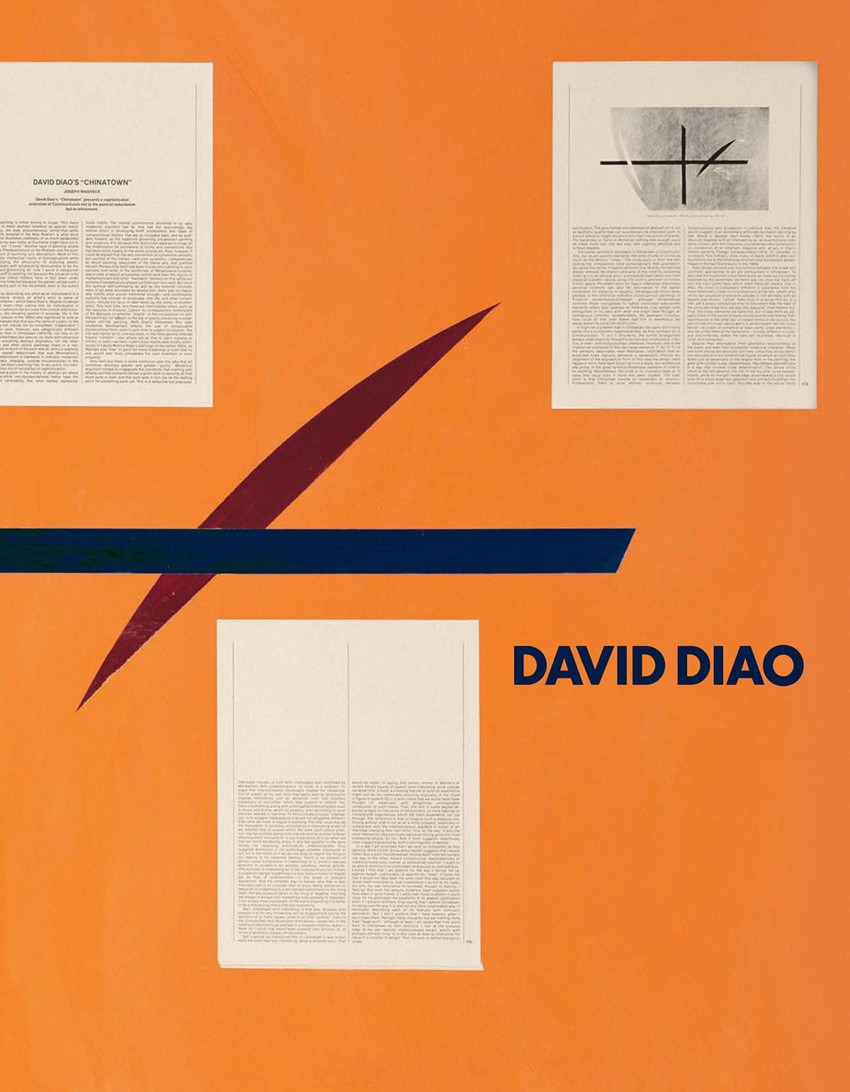 David Diao David Diao, 2018 Book 8 3/8 x 1 1/4 x 10 7/8 in 21.3 x 3.3 x 27.7 cm