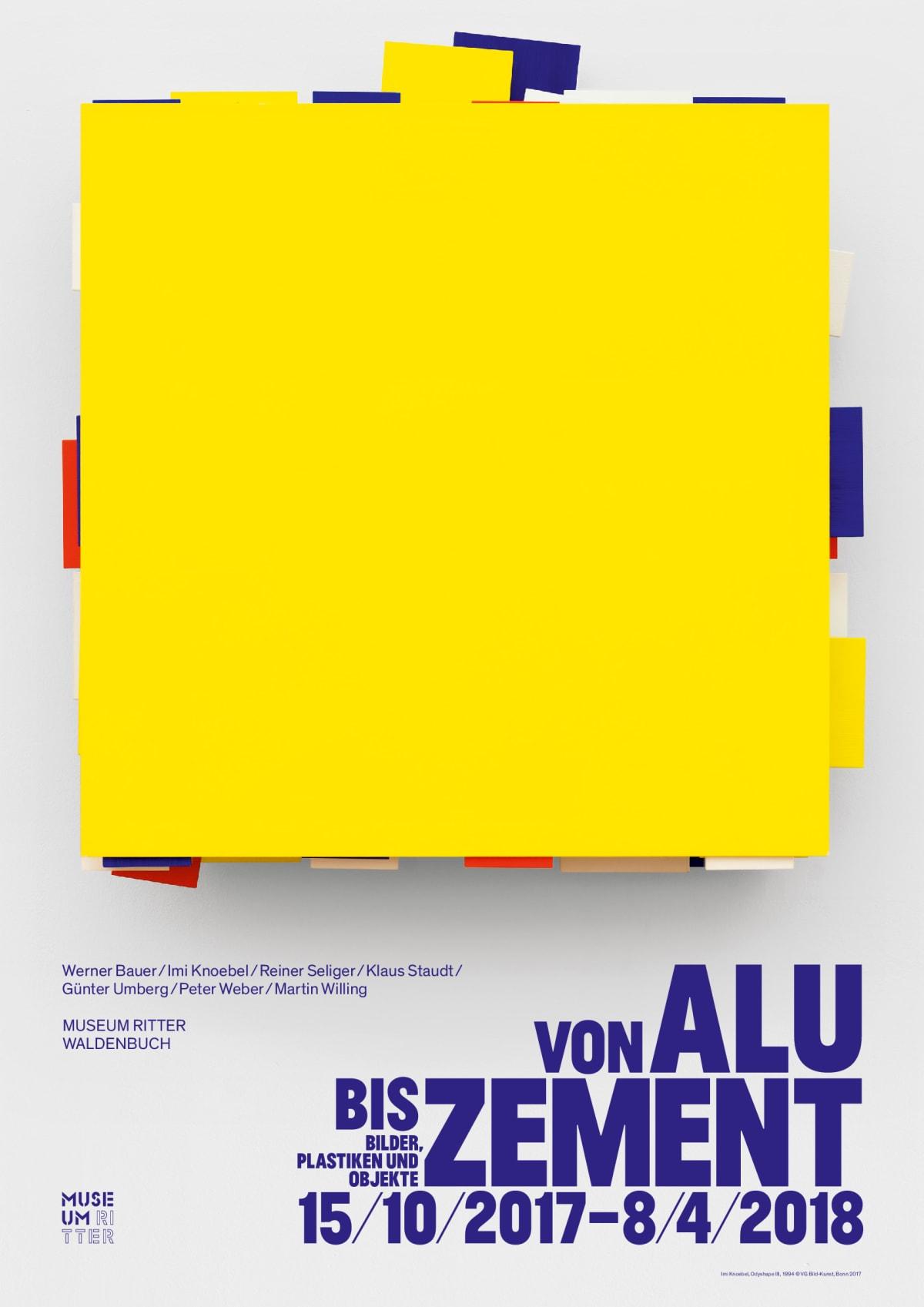 Imi Knoebel Poster 32.87 x 23.23 in 83.5 x 59 cm