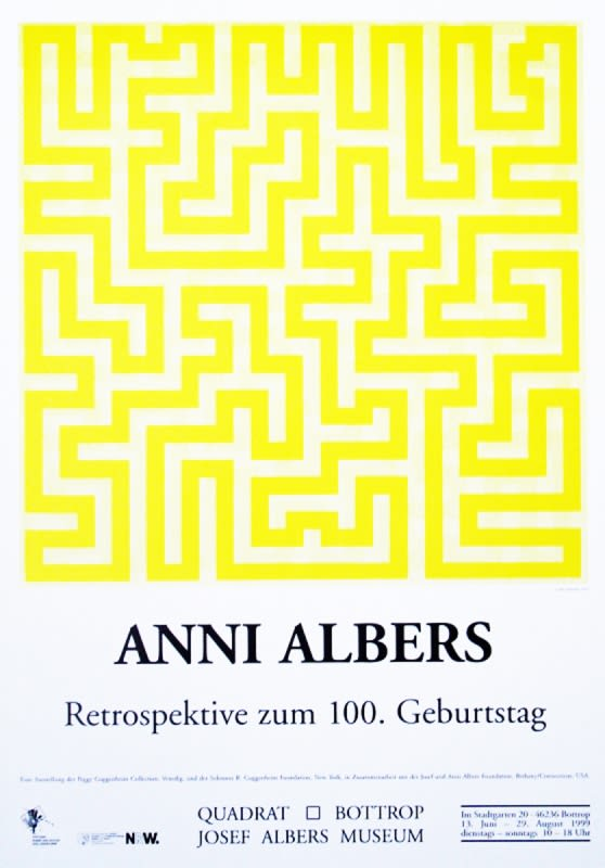 Anni Albers Poster 33 x 23.23 in 84 x 59 cm