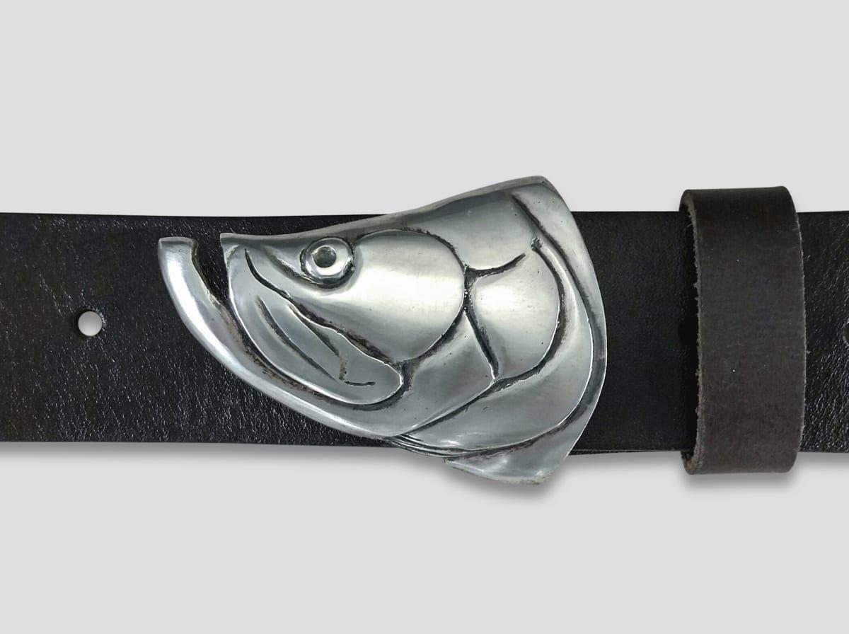 Peter Senesac, Tarpon Buckle for 1.5 belts, 2020