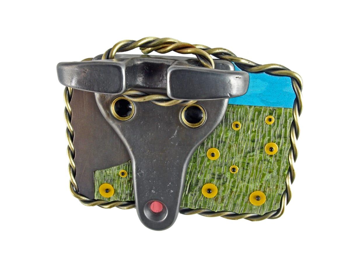 Lisa & Scott Cylinder, Bull Roping Belt Buckle, 2020