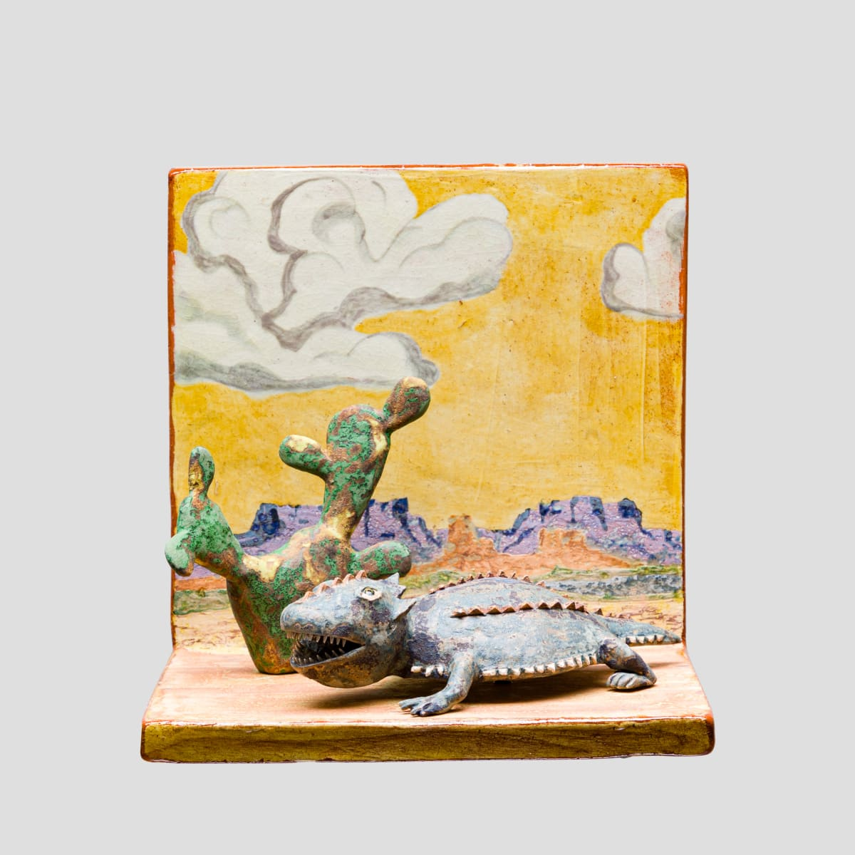 Wesley Anderegg, Horney Toad at Camelback Mountain, 2020