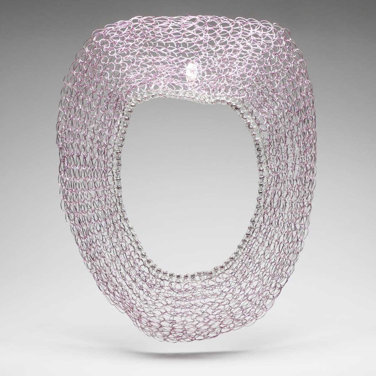 Arline Fisch, Silver & Lavender, 2002