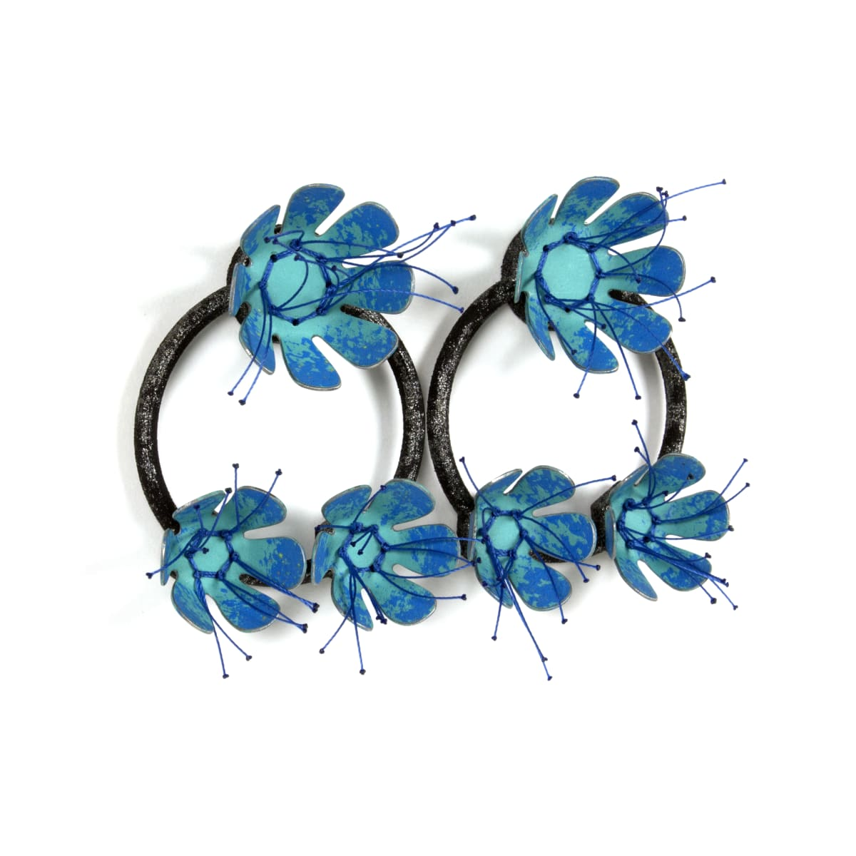 Aric Verrastro, The Bigger the Bloom…(Black and Blue)
