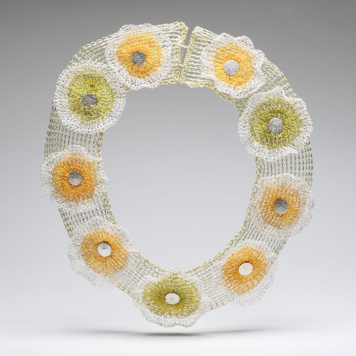 Arline Fisch, Green & Yellow Flowers, 2016