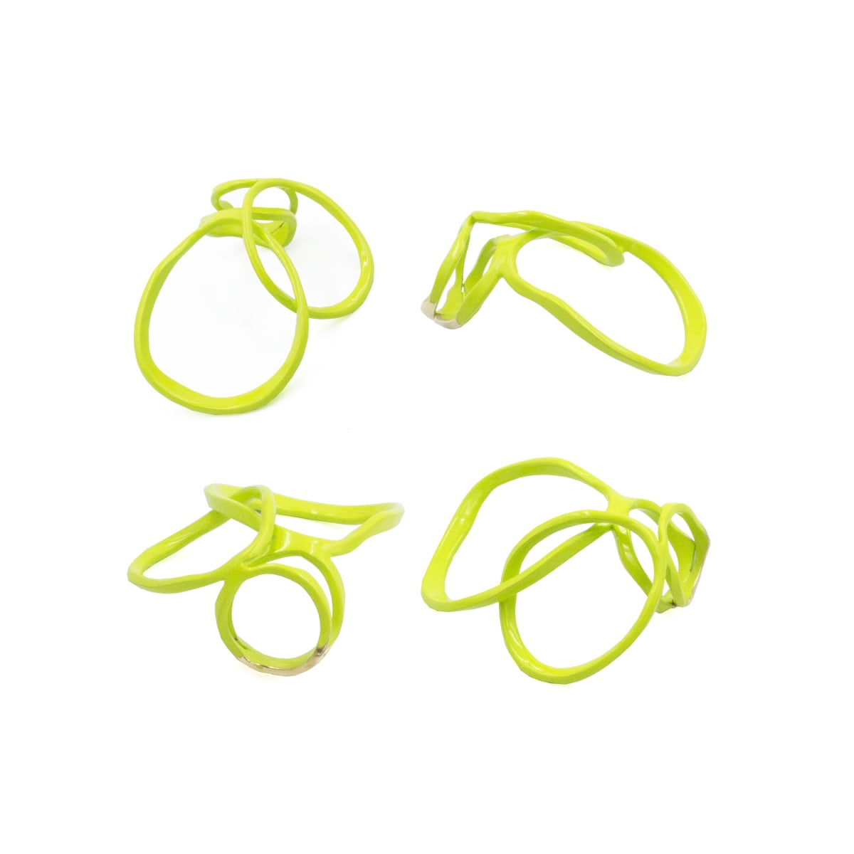 Laura Wood, Open Weave Ring Double CTR