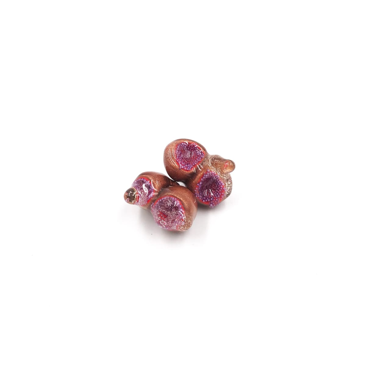 Jillian Moore, Wee Copper Cuppers with Purple Balls