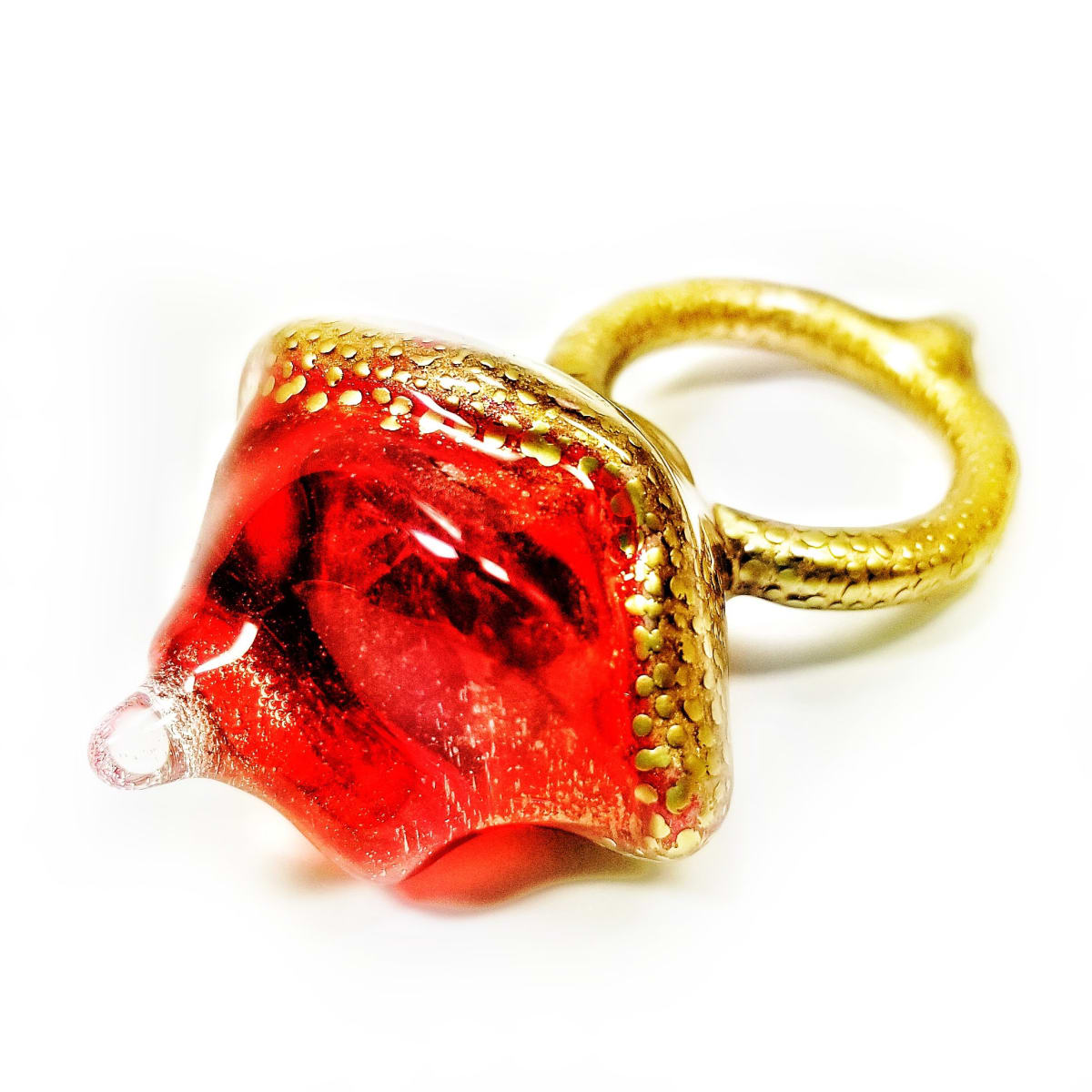 Jillian Moore, Red and Gold Gemmer Ring