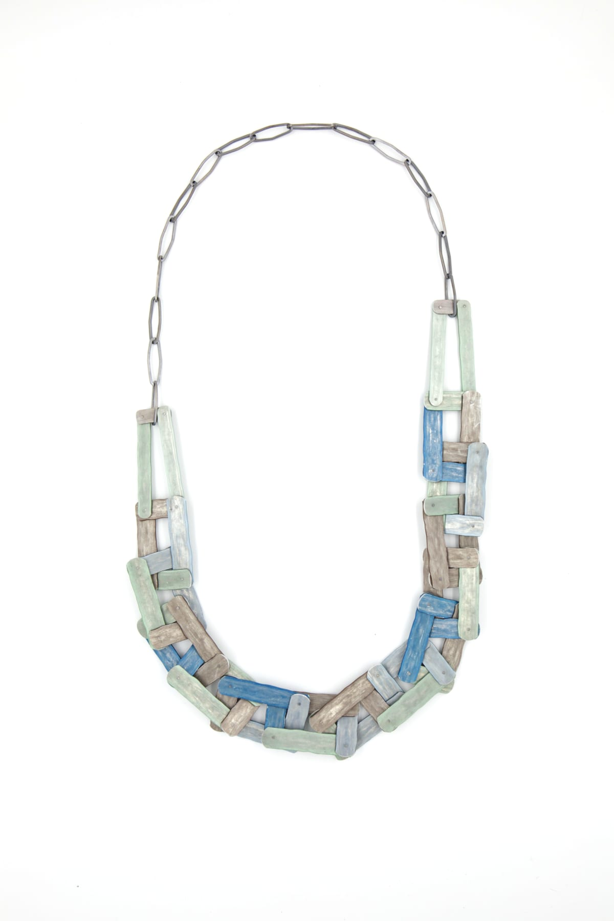 Taylor Zarkades King, Planked Chain Link Necklace