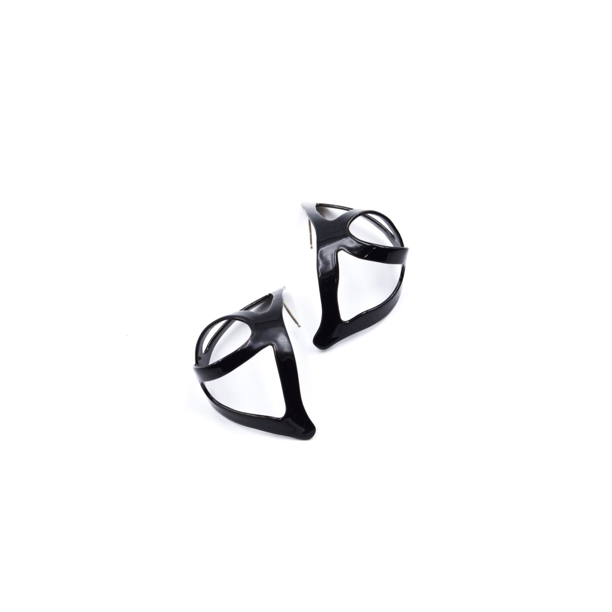 Laura Wood, Open Weave Huggie Hoop