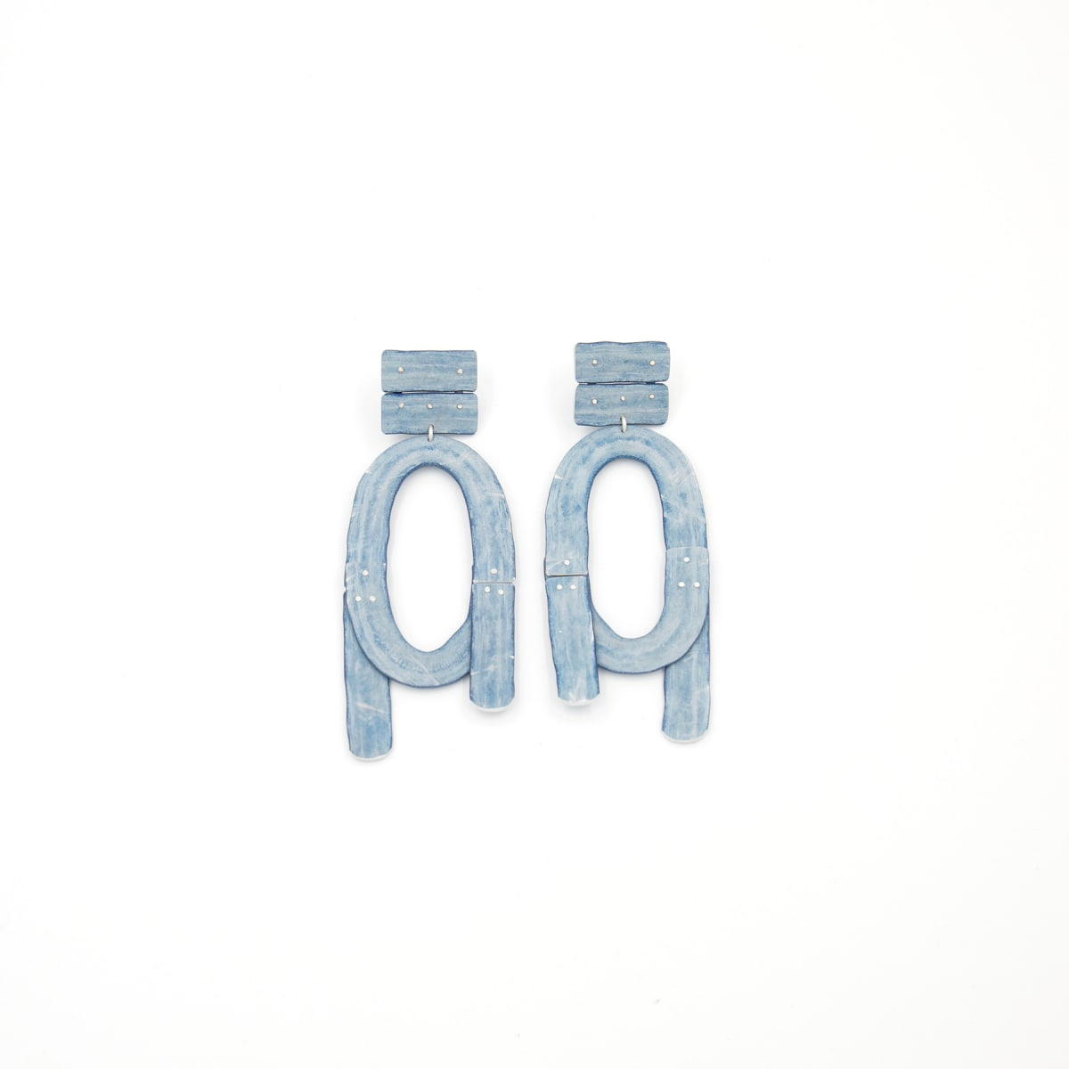 Taylor Zarkades King, Large Loop Knot Earrings