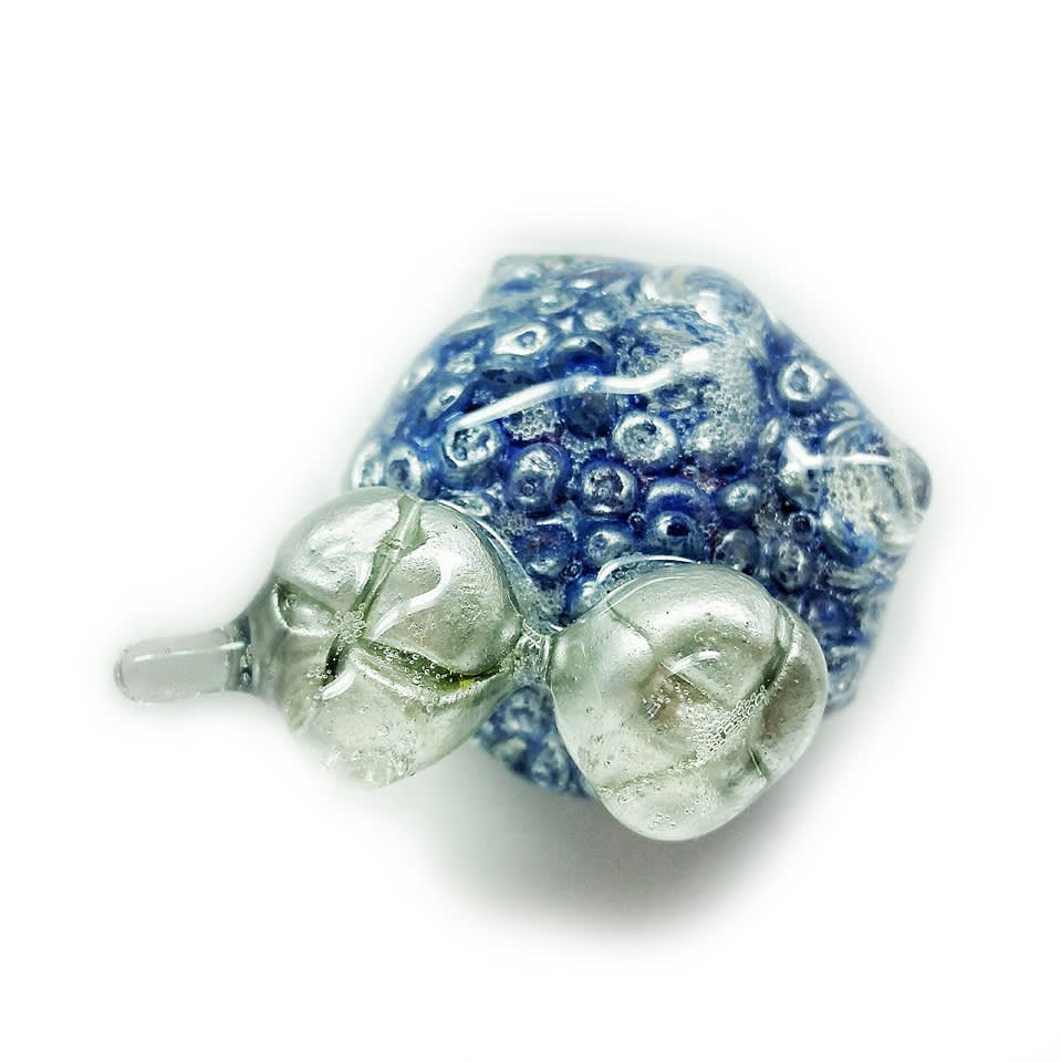 Jillian Moore, Little Blue Nub with Chrome Buns