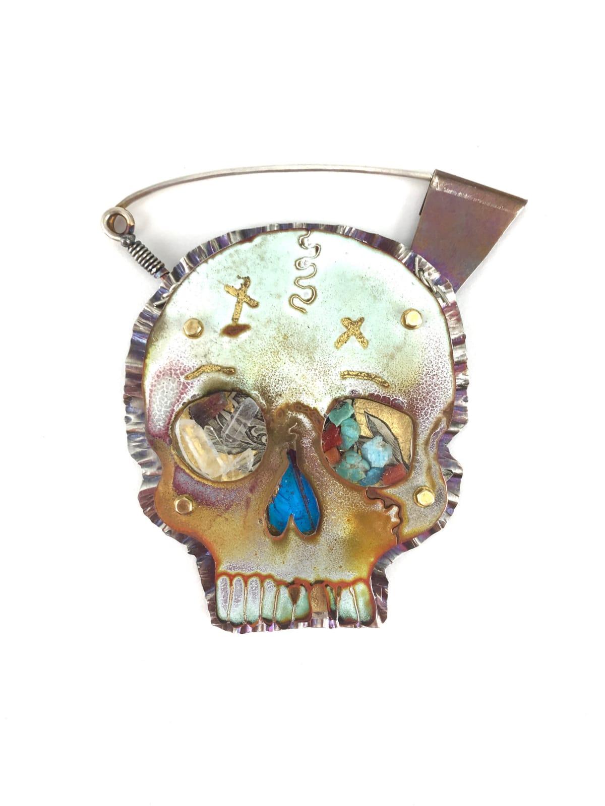 Ken Bova, Santa Fe Smitten Skull #3, 2019