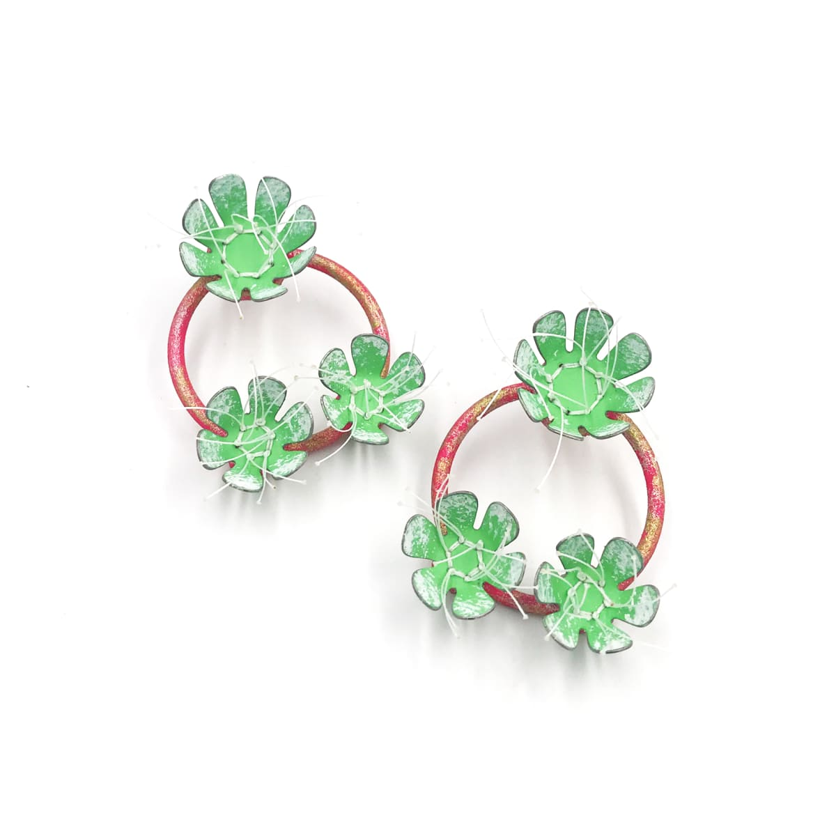 Aric Verrastro, The Bigger the Bloom…(Green and Pink)