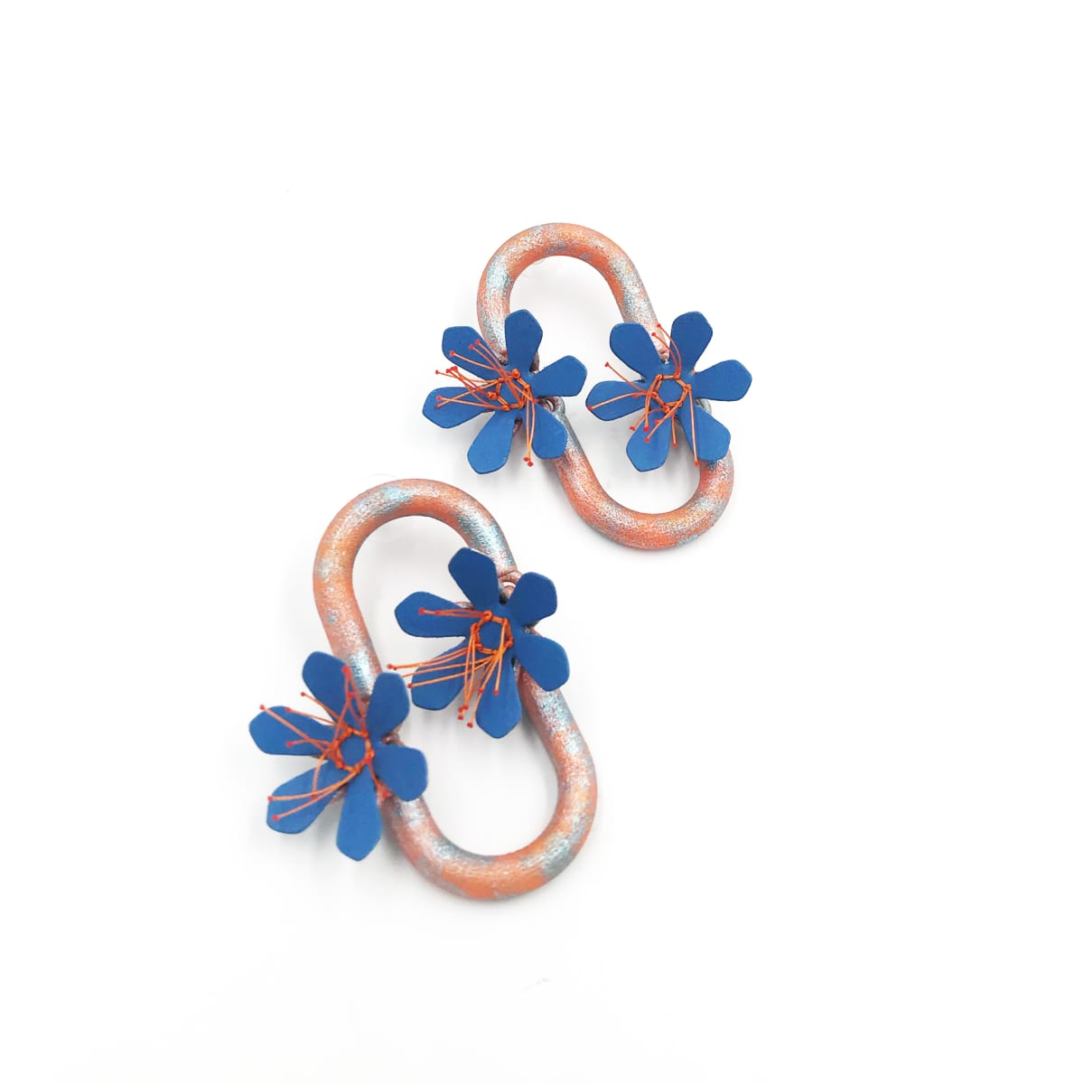 Aric Verrastro, Cadena de Flores Earrings