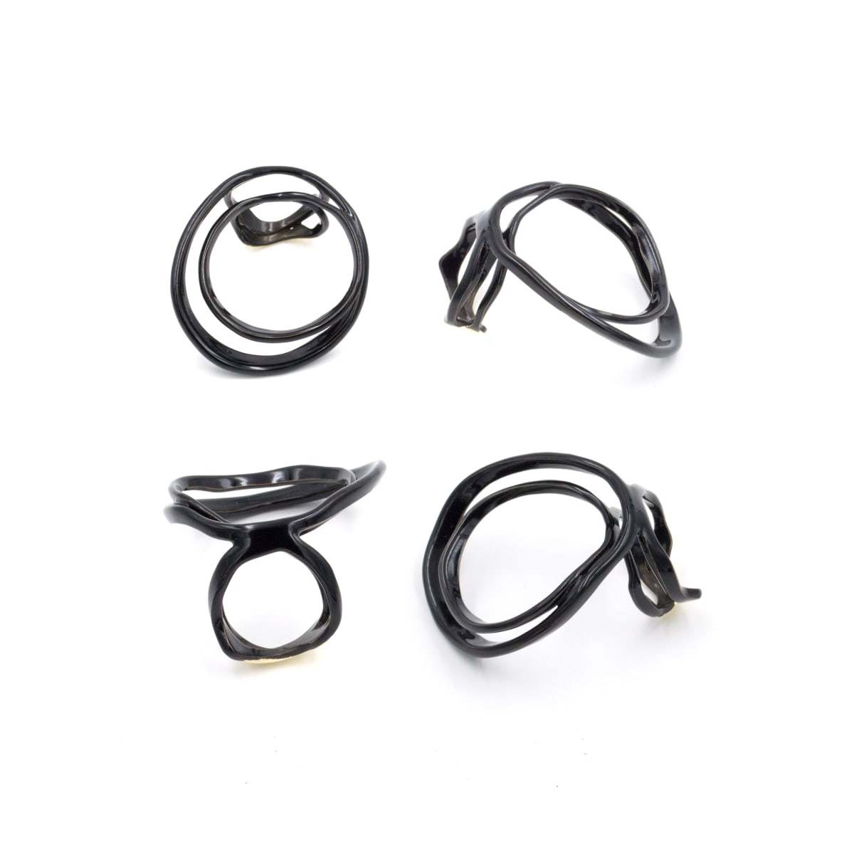 Laura Wood, Open Weave Ring Double