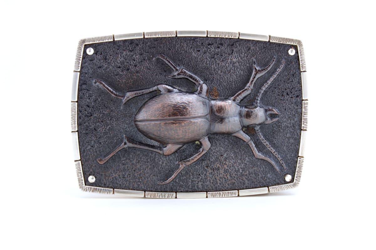 Tim Lazure, Beetle Belt Buckle, 2019