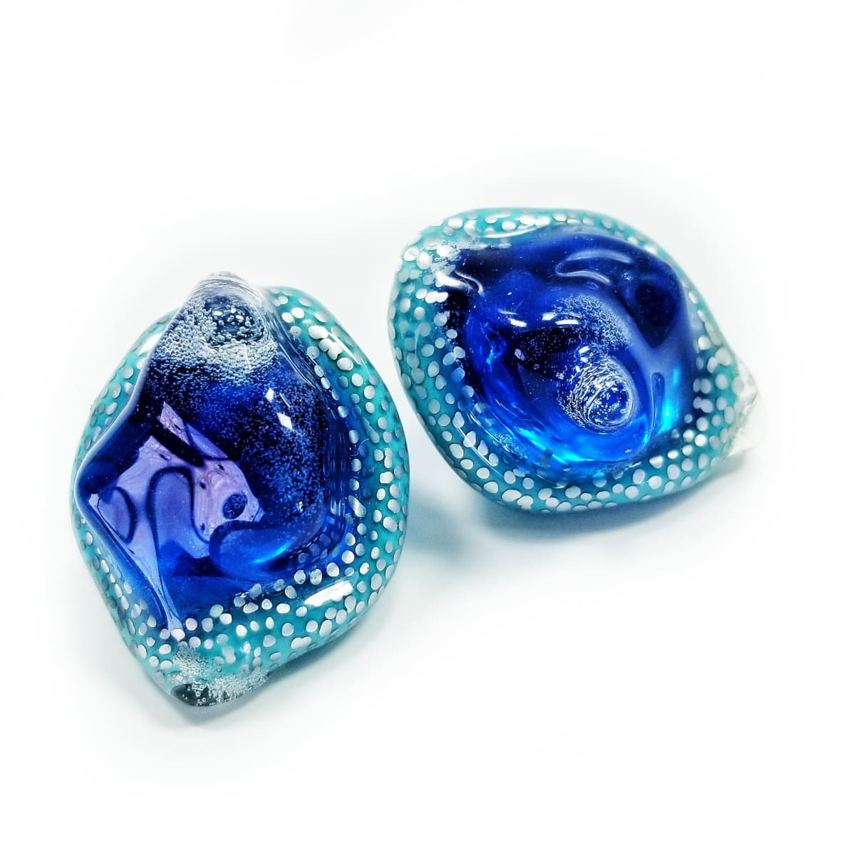 Jillian Moore, Fat Blue Gemmer Studs